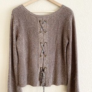 American Rag Cable Knit Sweater